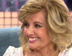 'Sábado deluxe' crece a un 17,9% con la visita de María Teresa Campos y Antena 3 pincha con el cine (9%)