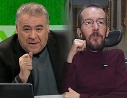 """Echenique responde a Ferreras tras destacar que no aplaudió al rey: """"Tampoco me puse de pie"""""""