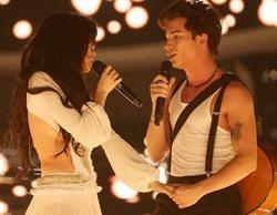 'Tu cara me suena 8': Así ha sido la sensual actuación de Nerea y Raoul como Camila Cabello y Shawn Mendes