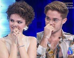 Así ha sido la reacción de Anne y Gèrard al hacerse pública su relación en la Gala 4 de 'OT 2020'