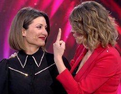 El flirteo de Nagore Robles y Sandra Barneda durante su reencuentro en 'El debate de las tentaciones'