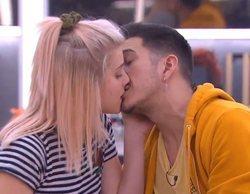 'OT 2020': El inesperado beso de Bruno y Samantha en clase de interpretación