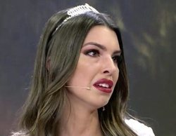 Andrea ('La isla de las tentaciones') descubre en directo que Óscar le ha sido infiel y rompe a llorar