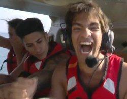 El hilarante debut de Alejandro Reyes en 'Supervivientes 2020' antes de saltar del helicóptero