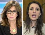 """Tensión entre Ana Rosa Quintana e Irene Montero por el Gobierno de coalición: """"Es responsabilidad, no mentir"""""""