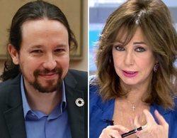 """Ana Rosa Quintana atiza a Pablo Iglesias por estar en la comisión del CNI: """"Como el aloe vera, vale para todo"""""""