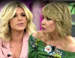 """Ylenia estalla contra Mila Ximénez por """"falsa"""" y ésta se va de plató entre insultos"""