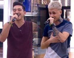 Bruno y Hugo, buena vibra ante un Rafa que tira hacia el drama en el primer pase de micros Gala 7 de 'OT 2020'