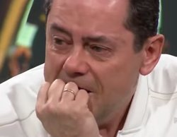 """Tomás Roncero rompe a llorar en 'El Chiringuito' tras la derrota del Real Madrid: """"Mi mujer me va a regañar"""""""