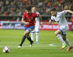 La 1 pasa de un 19,3% en el prime time con la clasificación mundial de fútbol a un 5,3% en el late night