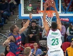 El encuentro Barcelona - Unicaja de la Copa del Rey de Baloncesto en #0 lidera el día