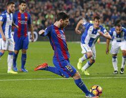 El partido del Barcelona - Leganés en Movistar + se convierte en lo más visto
