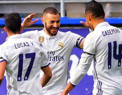 El encuentro Éibar - Real Madrid arrasa en beIN Sports