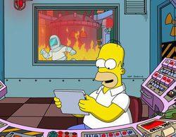 'Los Simpson', lo más visto de un día marcado por animación y cine