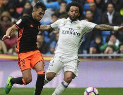 El Real Madrid - Valencia y el Espanyol - Barcelona arrasan