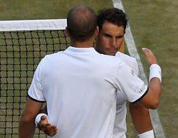 El partido de Wimbledon entre Nadal y Muller, en #0, lo más visto del día