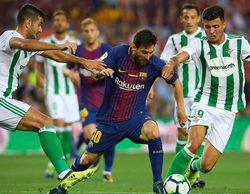 El FC Barcelona-R.Betis lidera en Bein Sports y el Deportivo- R.Madrid destaca en Movistar Partidazos