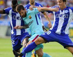 El fútbol se alza como lo más visto del día con el Alavés-Barcelona en beIN Sports