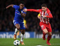 Antena 3 triunfa en el prime time gracias a la Champions League con el partido Chelsea - At. Madrid