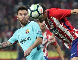 El partido entre Atlético Madrid y el Barça lidera en Movistar Partidazo