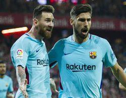El partido Ath. Bilbao - Barcelona de la Liga Española marca un 6,6% en Movistar Partidazo