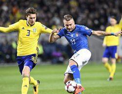 El partido entre Italia y Suecia se convierte en lo más visto de Movistar+