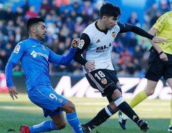 El partido Getafe - Valencia lidera con un 3,2% en Bein Sports