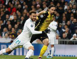"""El Real Madrid-Borussia Dortmund lidera en beIN Sports y """"Noche y día"""" destaca en FOX"""