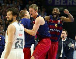 Buenos resultados para la Euroliga de baloncesto en Movistar+ con el Real Madrid-Barcelona