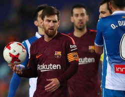 El fútbol de beIN Sports lidera con los encuentros Espanyol-Barcelona y Atlético de Madrid-Sevilla