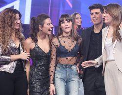 La 1 arrasa en el late night (27%) con el final de la preselección eurovisiva de 'OT' y 'El chat'