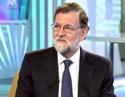 Telecinco lidera la mañana con la visita de Mariano Rajoy a 'El programa de AR'