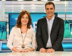 Telecinco supera en más de 3 puntos a Antena 3 en la franja de la mañana