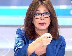 Ana Rosa le da a Telecinco el liderazgo de la franja de mañana (18,2%)