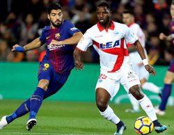 El partido entre el Barcelona y el Alavés anota un 6% en Movistar Partidazo