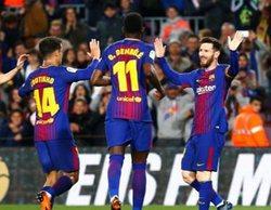El partido entre el Barcelona y el Leganés lidera en Movistar (6%)