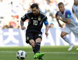 Cuatro arrasa en la sobremesa (24,5%) gracias al partido entre Argentina e Islandia