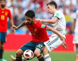 Telecinco no tiene rival en sobremesa, tarde y prime time gracias al Mundial
