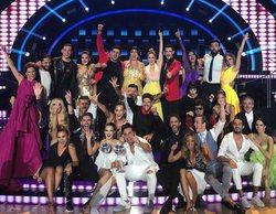 La 1 se lleva con facilidad el prime time (12,7%) gracias a la final de 'Bailando con las estrellas'