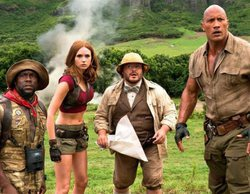 """El cine arrasa con """"Jumanji: bienvenidos a la jungla"""" (1%) y """"La conspiración de noviembre"""" (0,9%)"""