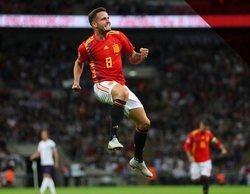 La 1 arrasa en el prime time gracias a la UEFA Nations League (24,1%) y Telecinco destaca en el late night (19,3%)