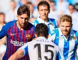 El Real Sociedad - Barcelona triunfa sin problemas en beIN Sports