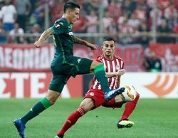 El partido de Europa League Olympiacos - Real Betis arrasa en Movistar+ Liga de Campeones