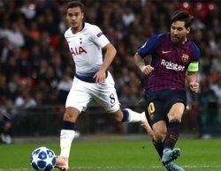 La Champions League arrasa y el partido Tottenham-Barcelona lidera con un 5,2%