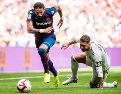 La derrota del Real Madrid frente al Levante, lo más visto del sábado en los canales de pago