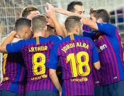 El partido de Champions FC Barcelona-AC Milan roza el millón de espectadores en Movistar+