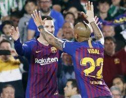 El Real Betis-FC Barcelona lidera en Movistar Partidazo y el Valencia-Getafe destaca en beIN Liga