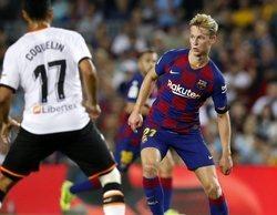 La victoria del Barcelona frente al Valencia sobresale en Movistar LaLiga