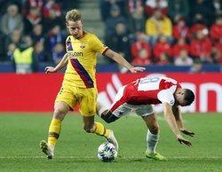 La victoria del Barcelona frente al Slavia de Praga arrasa en Movistar Liga de Campeones (4,5%)
