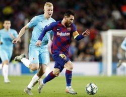 El partido de Champions Barcelona-Slavia Praga se lleva el liderazgo de la jornada para Movistar
